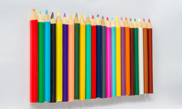 Coloring pencil set Royalty Free Stock Photo