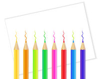Coloring pencil Stock Image