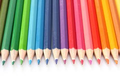 Coloring Pencils Stock Image