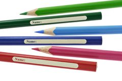 Coloring pencils Royalty Free Stock Image