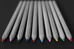 Coloring pencils Royalty Free Stock Photography