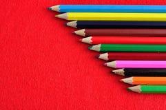 Coloring pencils Stock Photos