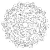 Coloring Rope Decoration Ornament royalty free illustration
