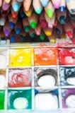 Coloring tools Royalty Free Stock Photos
