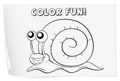 Coloring worksheet Stock Photos