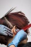 Coloriste de cheveu photos stock
