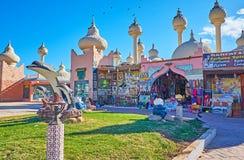 Colorith árabe en Sharm el Sheikh, Egipto Imágenes de archivo libres de regalías
