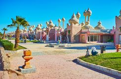Colorith oriental do Sharm el Sheikh, Egito Fotografia de Stock