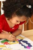 Coloritura del bambino Fotografia Stock Libera da Diritti