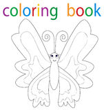 coloritura del libro Fotografie Stock Libere da Diritti