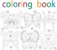 coloritura del libro Fotografia Stock Libera da Diritti