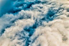 colorized的cloudscape 库存图片