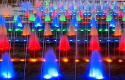 colorized фонтан Стоковое Изображение