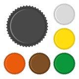 colorized kapsyler Arkivfoto