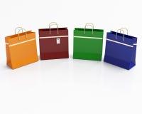 Colorized packar Fotografering för Bildbyråer