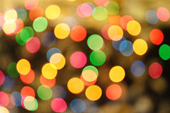 Colorlfull lights background - blured Royalty Free Stock Photography