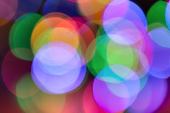 Colorlight-bokeh Hintergrund Stockfotos