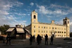 COLORNO, ITALY - NOVEMBER 06, 2016 - The Royal Palace of Colorno Stock Photos