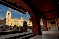 COLORNO, ITALY - NOVEMBER 06, 2016 - The Royal Palace of Colorno Royalty Free Stock Photography