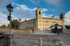 COLORNO, ITALY - NOVEMBER 06, 2016 - The Royal Palace of Colorno Royalty Free Stock Photos