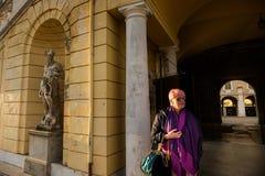 COLORNO, ITALY - NOVEMBER 06, 2016 - The Royal Palace of Colorno Royalty Free Stock Photo