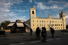 COLORNO, ITALY - NOVEMBER 06, 2016 - The Royal Palace of Colorno Royalty Free Stock Image