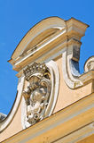 Colorno Reggia。伊米莉亚罗马甘。意大利。 免版税库存照片