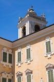 Colorno Reggia。伊米莉亚罗马甘。意大利。 免版税图库摄影