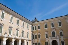 colorno公爵的一点红・意大利宫殿romagna 免版税图库摄影