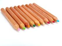 Colorpencils Photo libre de droits