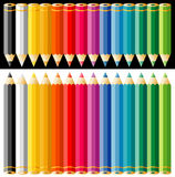 Colorpencils stock photos