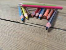 Colorpencils 免版税库存图片