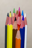 Colorpencils 图库摄影