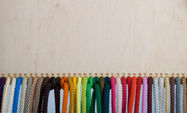 Colorred ropes Royalty Free Stock Photography