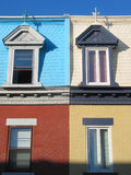 Colors. Windows architecture Stock Photos