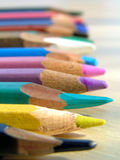 Colors 1. Color pencils Stock Image