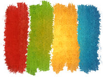 Colors. Background of four colors - red, green, yellow and blue Royalty Free Stock Photography