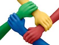 Colors-23 unido Fotografía de archivo libre de regalías