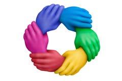 Colors-24 unido Imagenes de archivo