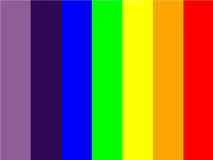 Colors. An illustrator image for VIBGYOR color background Stock Photography
