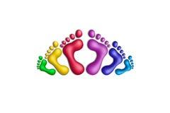Colors-31 unido Foto de archivo libre de regalías