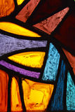 Colors. A stained glass window full of colors Royalty Free Stock Image