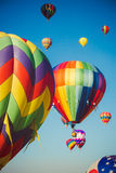 Colors in the Air Royalty Free Stock Photos