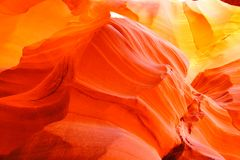 Colors of Antelope Canyon Royalty Free Stock Image