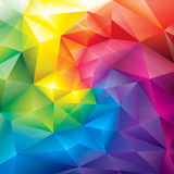 Colors Background. Abstract polygonal gems colors background Stock Photos