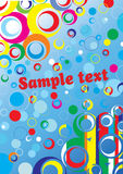 colors background.Vector. Royalty Free Stock Images