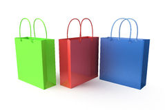 Colors bags Royalty Free Stock Photography