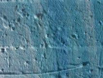 Colors: Blue. Detail of graffiti wall Royalty Free Stock Photo