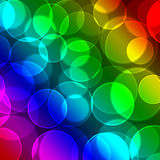 Colors with bokeh background Royalty Free Stock Photography