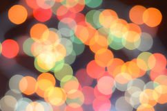 Colors bokeh Royalty Free Stock Photography